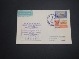 RUSSIE - 1er Vol  Moscou / Paris En 1958 , Affranchissement Plaisant - A Voir - L 5765 - 1923-1991 URSS