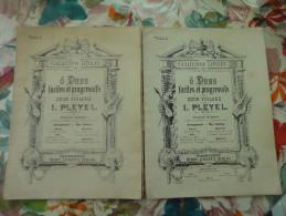 Lot De 2 Anciennes  Partitions Collection Litolff Violino 1 Et Violino 2 - Etude & Enseignement