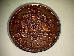 Barbados 1 Cent 1982 - Proof - Barbades