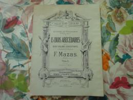 """Partition Collection Litolff """"le Lycée Du Violoniste"""" 1er Année-15 Duos Abécédaires-violon 2 - Musique & Instruments"""