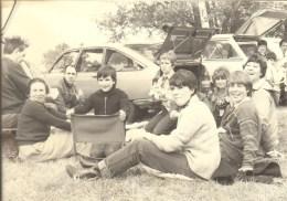 VOITURE AUTOMOBILE - JUIN 1982 - LES 20 ANS DU MEJ - PHOTO 12,5x9 Cms - Automobili