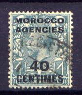 Great Britain Post In Marokko Nr.206        O  Used        (731) - Bureaux Au Maroc / Tanger (...-1958)