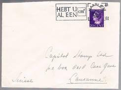 Nederland, 1947, For Lausanne - 1891-1948 (Wilhelmine)
