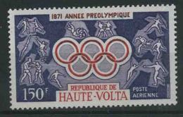1971 Alto Volta, Preolimpica , Serie Completa Nuova (**) - Alto Volta (1958-1984)