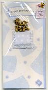 4 CP Modernes Neuves Thème Anniversaire Sujet En Relief Koala Chat Chien Ours - Gift Cards