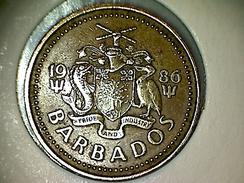 Barbados 5 Cents 1986 - Barbados