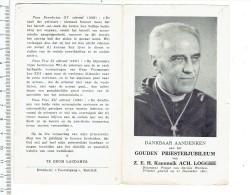 Kl 3173 - GOUDEN PRIESTERJUBILEUM KANUNNICK  ACH. LOGGHE - Religion & Esotérisme