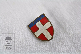 Vintage Savoie, France Coat Of Arms Badge - Ciudades