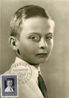 LIECHTENSTEIN - PRINCE JOHANN ADAM PIUS OF LIECHTENSTEIN - 1955. - Liechtenstein
