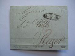 AUSTRIA 1830 VORPHILA ENTIRE LILIENFELD TO STEYR - Österreich