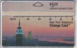 USA - PHONE CARD - TAXCARD-PRIVÉE   ***  NEW YORK - TELEPHONE / 1 *** - Etats-Unis