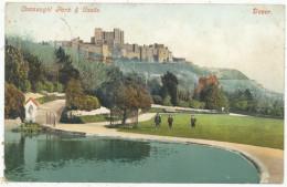 Connaught Park & Castle, Dover, 1913 Postcard - Dover