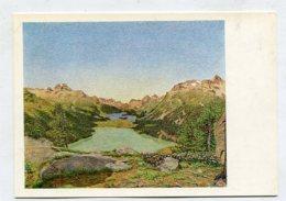PAINTING - AK288720 Gottardo Segantini - Blick Ins Oberengadin - Paintings