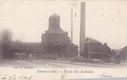 Anderlues  Puits Des Aulniats  Circulé En 1903 - Anderlues