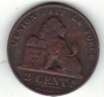 BELGIQUE MORIN N° 111, UNC, 2 Ct, 1863 . (SP5) - 1831-1865: Leopold I
