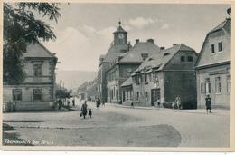 TSCHAUSCH Bei BRÜX - 1942 , Stempel OSSEG über DUX - Sudeten