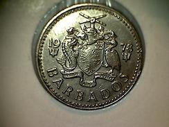 Barbados 25 Cents 1978 - Barbados
