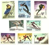 1968 - Sharjah 205 + PA 59 Olimpiadi Di Grenoble, - Inverno1968: Grenoble
