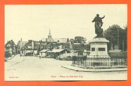 """CPA 80  Ham """" Place Du Général Foy """" LJCP 11 - Ham"""