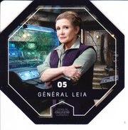 05 Général LEIA 2016 STAR WARS LECLERC COSMIC SHELLS - Episode II