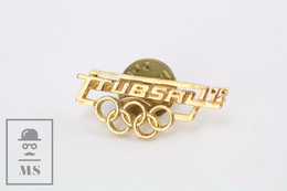 Vintage Trubsal 92 - Barcelona Olympic Games Pin/ Badge - Juegos Olímpicos