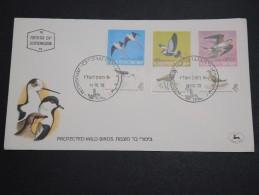 ISRAËL -  Enveloppe FDC En 1975 , Thème Oiseaux - A Voir - L 5800 - FDC