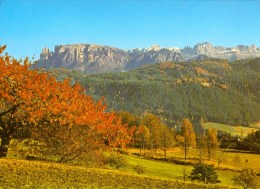 AK Italien Dolomiten 1986 Der Schlern Und Der Rosengarten Vom Ritten Gesehen - Italien