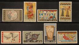 Greece Sc# 708-715   MNH  Complete Set 1961 - Unused Stamps