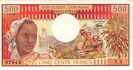 GABON  500 FRANCS De 1-04-78  Pick 2b  UNC/NEUF - Gabon