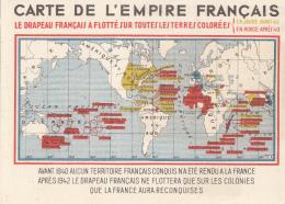 Militaria - Guerre 39-45 - Propagande 1940 - Ex-colonies Française Dans Le Monde - Weltkrieg 1939-45