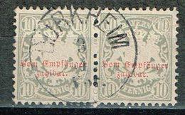 Bayern  1876 , Porto Nr. 6 Gestemp. / Used / Oblitaire - Beieren