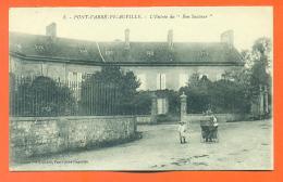 """CPA 50 Pont L´abbé Picauville """" L'entrée Du """" Bon Sauveur """" """" Landau - LJCP 11 - Francia"""