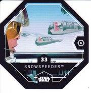 33 SNOWSPEEDER 2016 STAR WARS LECLERC COSMIC SHELLS - Episode II