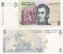 Argentina - 5 Pesos 2006 Serie I UNC Lemberg-Zp - Argentina
