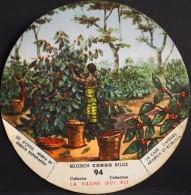 Chromo & Image - Collection LA VACHE QUI RIT - CONGO BELGE N° 94 Le Café Caféiers Arabica Et Robusta - En B. état - Cromos