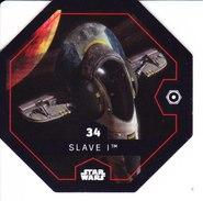 34 SLAVE 1 2016 STAR WARS LECLERC COSMIC SHELLS - Episode II