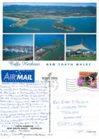 Coffs Harbour, NSW, Australia Postcard Posted 1998 Stamp - Coffs Harbour