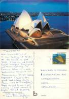 Opera House, Sydney, NSW, Australia Postcard Posted 1984 Stamp - Sydney