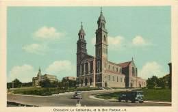 CHICOUTIMI - LA CATHEDRALE ET LA BON PASTEUR - Chicoutimi