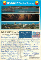 Darwin, Northern Territory, Australia Postcard Posted 1996 Stamp - Darwin