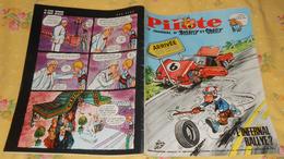 Pilote. N° 406 (03/08/1967) Buck Gallo. L'infernal Rallye - Pilote