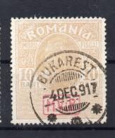 DR Dt. Bes. RÜMÄNIEN MiNr  7 X Sauber O - Besetzungen 1914-18