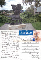Sculpture, Wagga Wagga, NSW, Australia Postcard Posted 2012 Stamp - Wagga Wagga