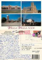 Wagga Wagga, NSW, Australia Postcard Posted 1998 Stamp - Wagga Wagga