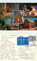 Bendigo Pottery, Bendigo, Victoria, Australia Postcard Posted 1993 Stamp - Bendigo