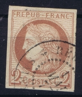 Colonies General Yv 15  Obl Used  CAD  Reunion - Reunion Island (1852-1975)