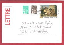 YetT N°3660++  FOURAS    Vers   PLOUMAGOAR 2004 - Marcophilie (Lettres)