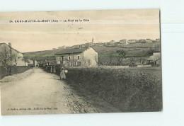 SAINT  MARTIN Du MONT - Pied De La Côte - Animé -  2 Scans - France