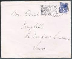 Nederland, 1937, For Lausanne - 1891-1948 (Wilhelmine)