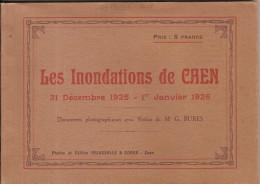 CAEN LES INONDATIONS DE CAEN 31 DECEMBRE 1925 1 JANVIER 1926 PHOTOS DELASSALE ET CORON CAEN - Album & Collezioni